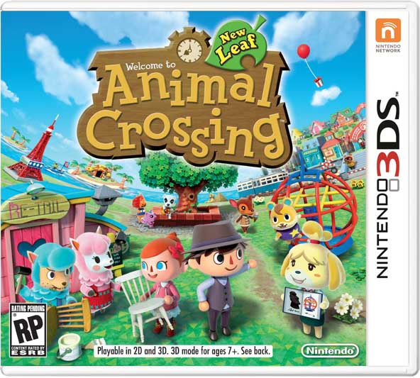 Animal Crossing New Leaf Cia Madswitch